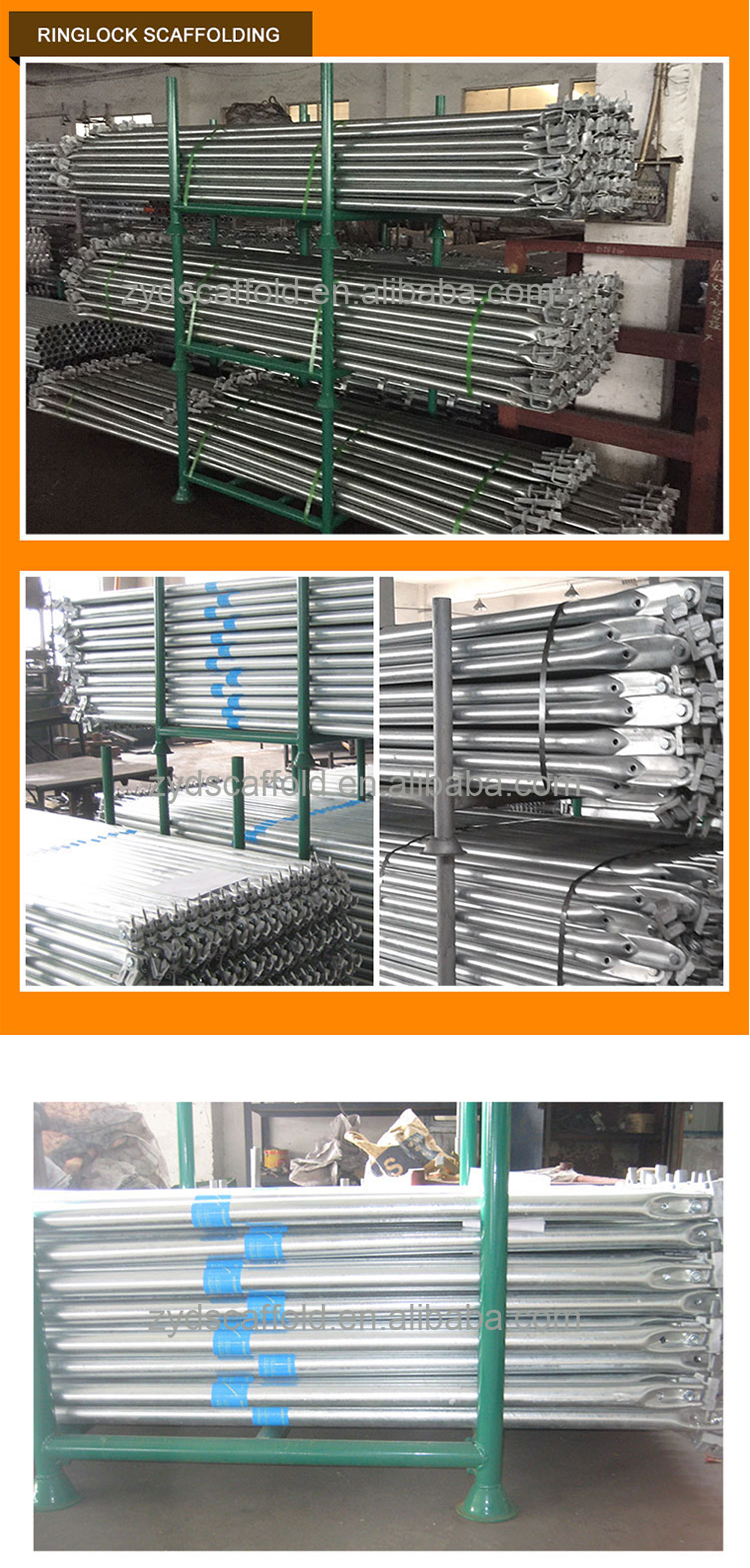Manufacturers Building Construction Ringlock Scaffolding Diagonal