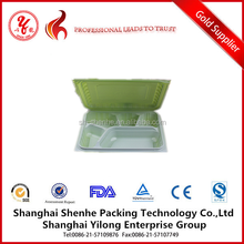 biodegradable food trays plastic food compartment tray fancy tray