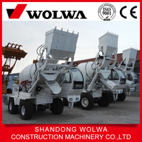 2 cbm capacity bucket self loading concrete mixer for sale