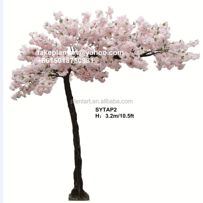 2017 Factory wholesale romantic artificial cherry blossom tree wedding arches decoration