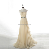 Bottom price discount dresses chiffon off-shoulder bridal gown for wedding