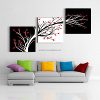 Low Price Modern Canvas Painting 3 Panel