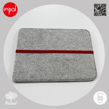 2013 OEM/ODM for ipad 1/2/3/4 customized wool felt back cover