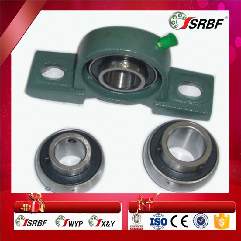 SRBF High loading capacity insert bearing external sphere ball bearing pillow block bearing ucp 210 ucf 210 ucp 211 ucf211