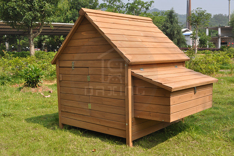 China supplier large wooden chicken coop for sale