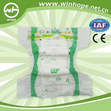 cheap OEM 3D leakguard channel baby diaper adopted new technology