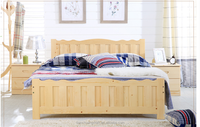 Alibaba High quality 1500*2000mm Wooden bed