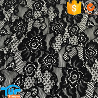 women dress fabric stretch lace fabric with spandex nylon