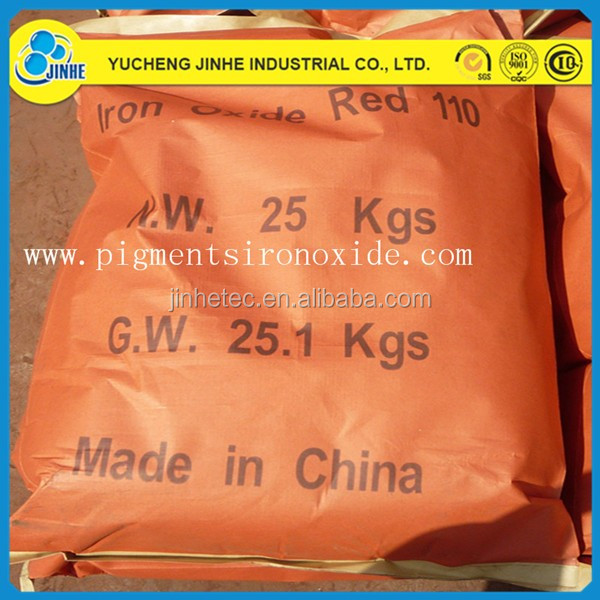 synthetic color paint Iron Oxide Red for wood mulch