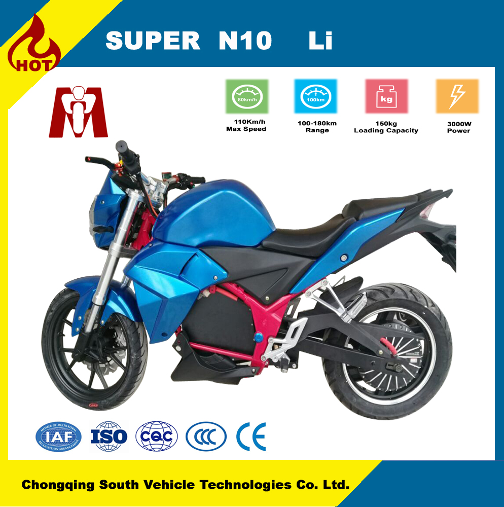 Hot selling!!!China 3000W Hub motor drive electric motorcycle,adult electric vehicle