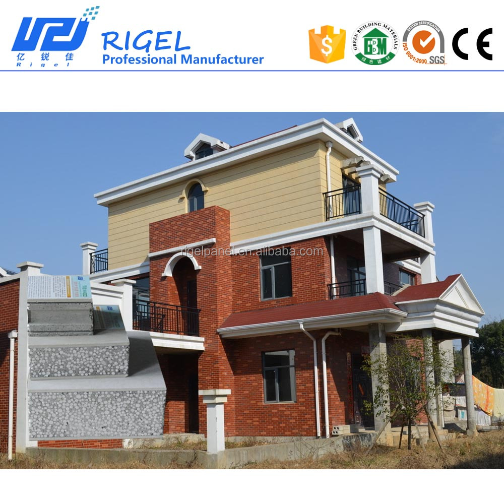 High Quality Eps Sandwich Wall Panel prefabricated house for good price