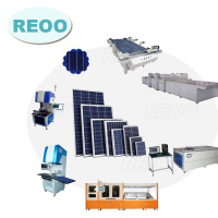REOO solar panel production lines for PV module manufacturing