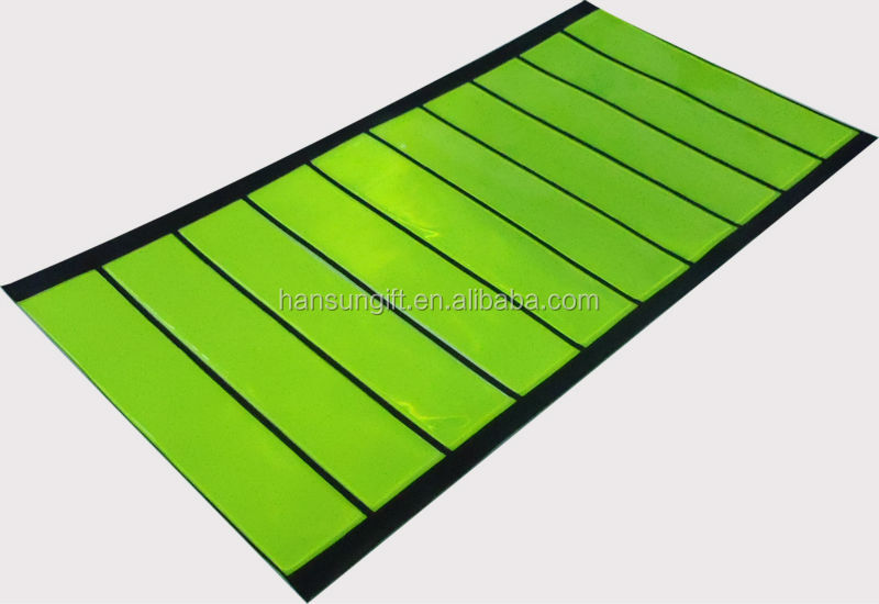 Fluorescent Yellow Safety Reflective Tape