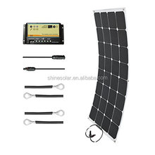 back contact solar cells 100w sunpower flexible solar panels in stock