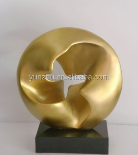 Contemporary Interior Decoration Metal Stainless Steel Abstract Sculpture