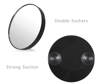 wholesale 5X magnification makeup mirror magnifying 5x shaving mirror on wall mirrors