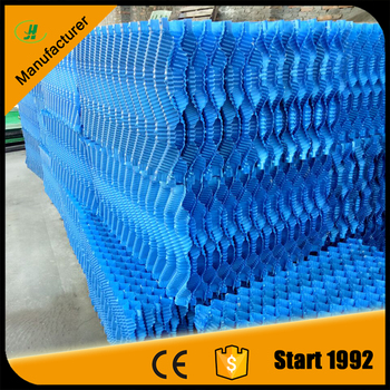2015 s shape cooling tower fill for counter flow cooling tower