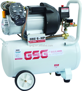 Double cylinder CE approval quality portable air compressor for painting