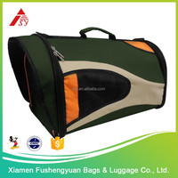 high quality 600D polyester expandable pet dog carrier / pet cage