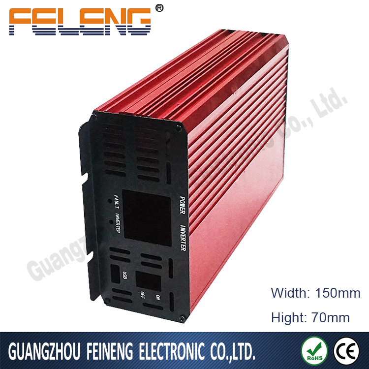 Aluminum profile metal PCB extruded box/switch box electronics enclosure