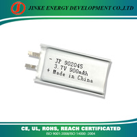 Lithium polymer battery special design 3.7v micro battery for electric card