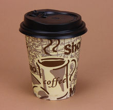 2015 hot sale double wall hot coffe paper cups with various size