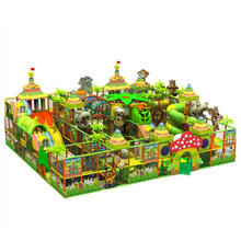 Popular Commercial Forest Theme Kids Indoor Playground