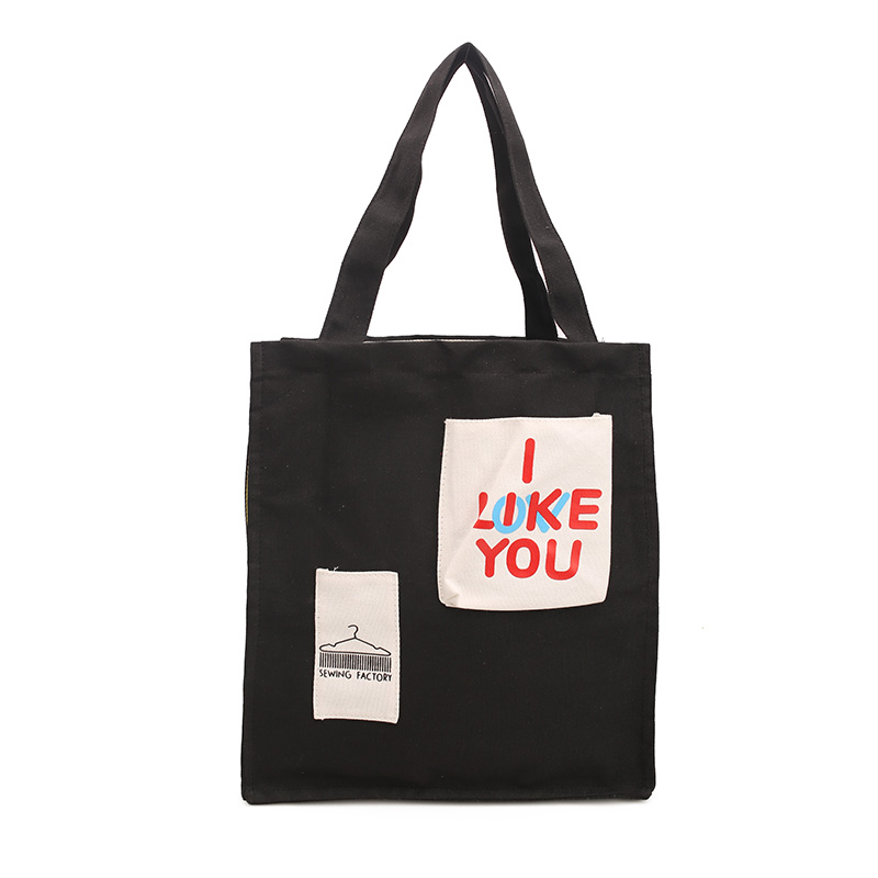 100% cotton tote bag recyclable expandable shopping cotton promo bag