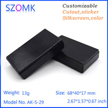 abs injection mould sensor enclosure for gps tracker enclosure