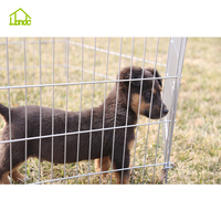 Durable&portable wire welded inside small dog kennels&playpens