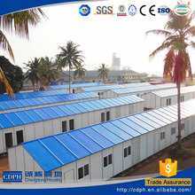low price labor worker use prefabricated house in Southeast Asia