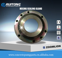 mixing sealing gland/gland cover for Zoomlion concrete pumps