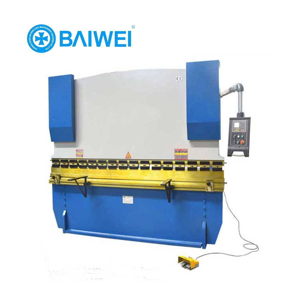 China CNC control WC67Y hydraulic plate press brake bending machine with low price