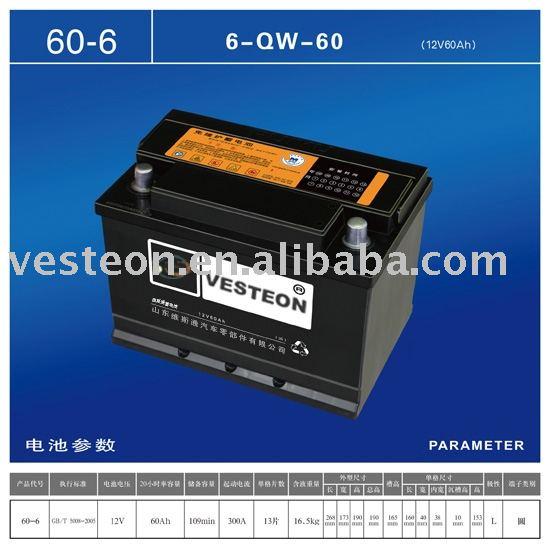 lead -acid car battery
