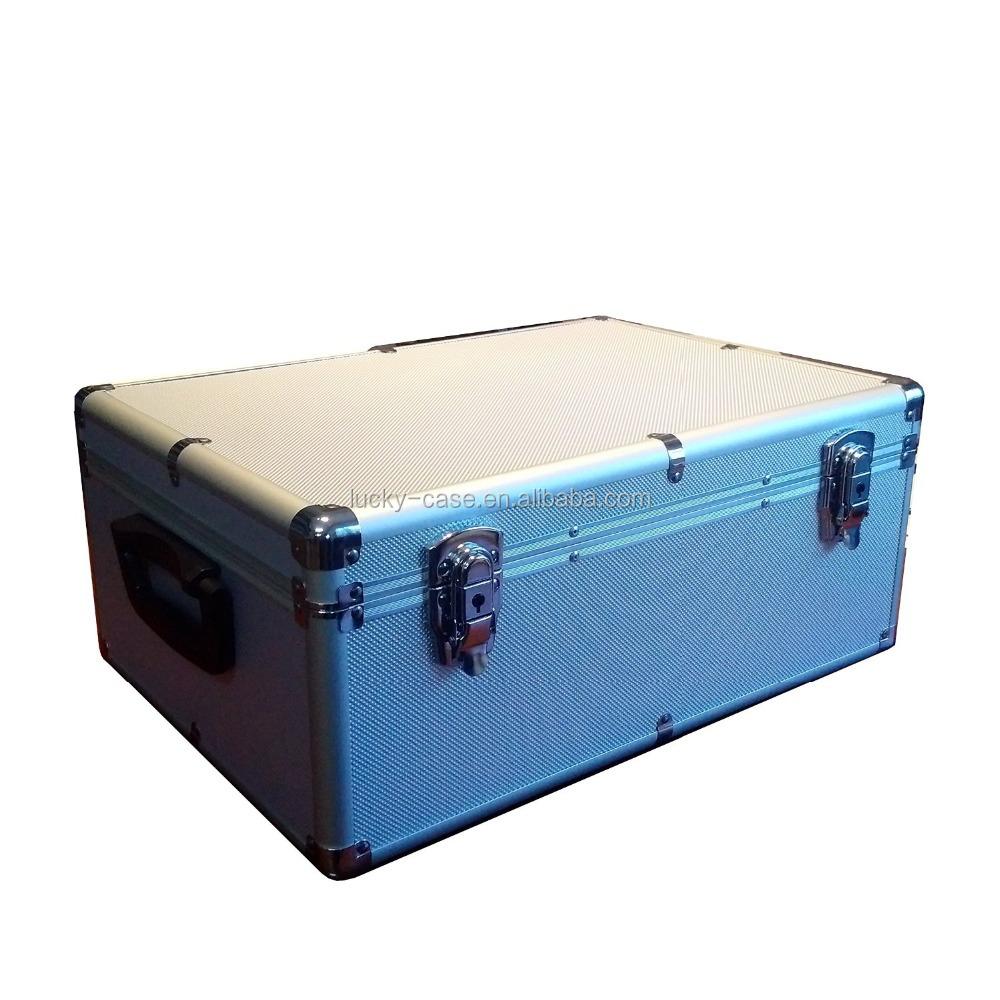510 Aluminum Cd Dvd Storage Case Box Silver Blu Ray Cd