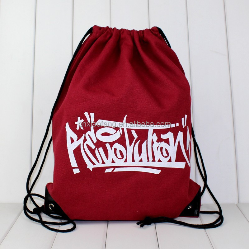 wholesale drawstring backpack cotton,drawstring cotton bag,cotton drawstring bag