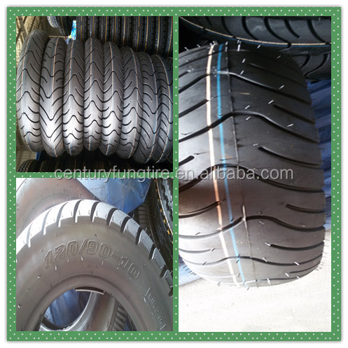 120 90 10 motorcycle tire and scooter tyres