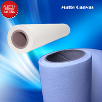 Quality Guarantee 220gsm Polyester Matte Canvas Roll,Polyester Inkjet Canvas Printing