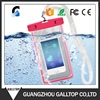 Hot PVC Luminous Phone Waterproof Bag Underwater Mobile Phone Case Cover Dry Pouch Bag