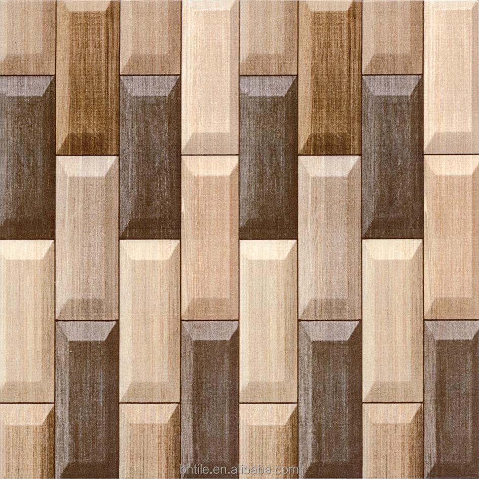 Smooth Surface Porcelain Wood Tile Ceramic Wood Tile View