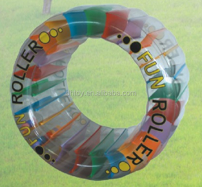 fun inflatable wheel roller