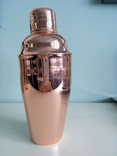 super quality copper plating cocktail shaker