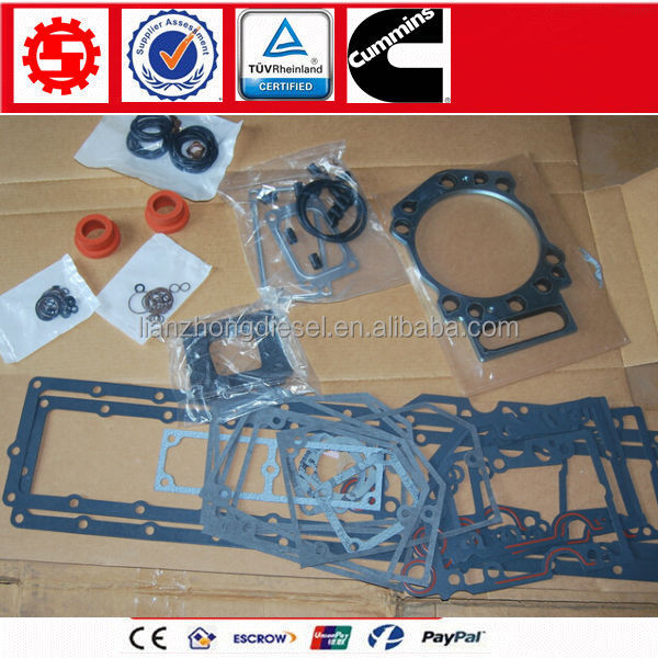 Cummins <strong>K19</strong> <strong>engine</strong> overhual gasket kit 3800727 / 3800728