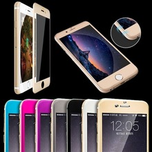 Hot Selling Smart Mirror Anti-spy Clear Gold Tempered Glass Flim Screen Protector for apple iPhone 6s