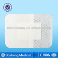 Non-woven wound dressing