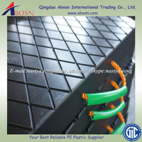 foot pad outrigger pad /OEM hdpe sheet for crane floor protection