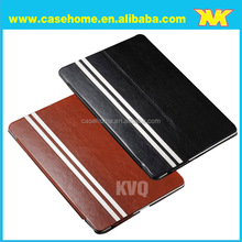 Stand leather flip tablet case for ipad air