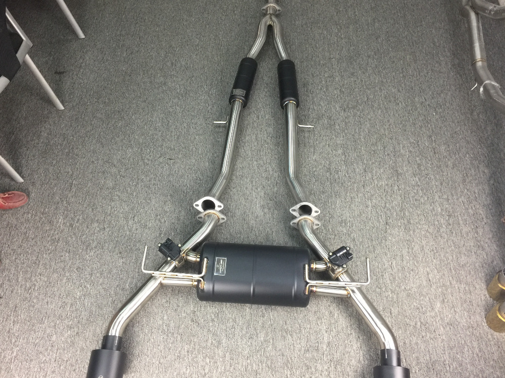 exhaust for infiniti Q50 3.0 T and 2.0T