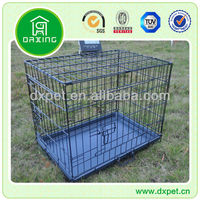 "24"" Collapsible Metal Dog Crate"