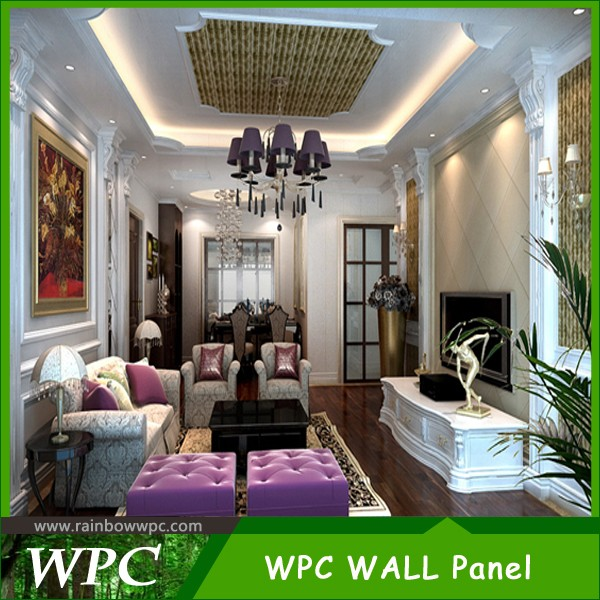 Easr Install, Colorful, waterproof WPC Wall Panel